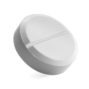Tablet Shaped Stress Ball