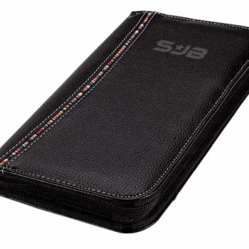 Tribal Stripe Zippered Passport Wallet