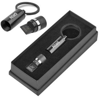 Alex Varga Blofeld Flash Drive Keyholder - 32Gb Usb