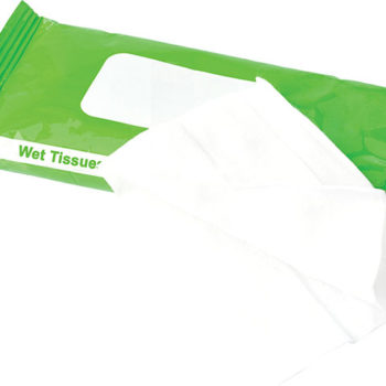Bag with 10 Wet Wipes