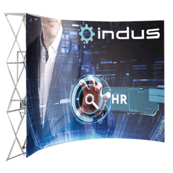 Banner Walls Curved