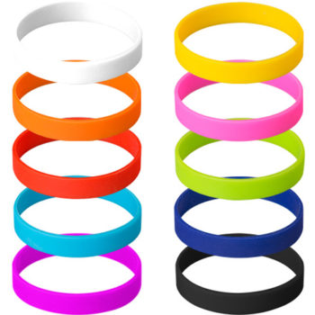 Fitwise Silicone Adult Wristband