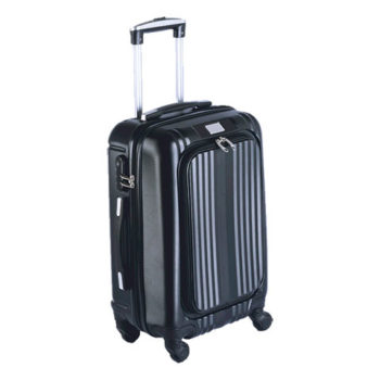 Hard Shell Luggage Bag With Front Pocket