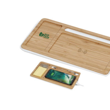 Maitland Desk Organiser With Wireless Charger
