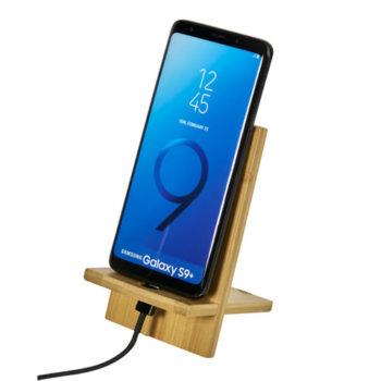 Okiyo Ekslens Bamboo Phone Stand