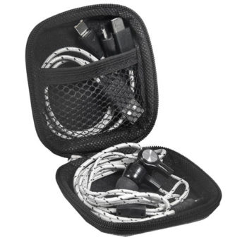 Orleans 3-In-1 Connector Cable And Earbuds