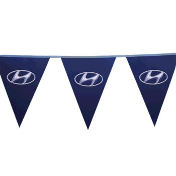 Pennants Pvc - Digital Double Sided Triangle