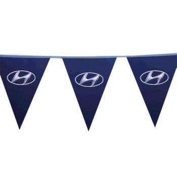 Pennants Pvc - Digital Single Sided Triangle