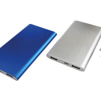 Slim Aluminium 4000 mAh Powerbank