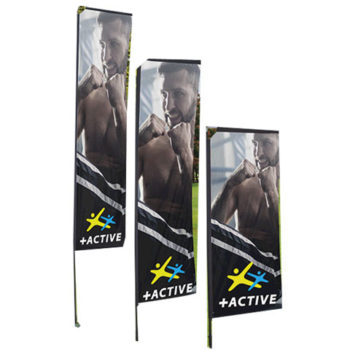 Telescopic Banners Deluxe - Single Sided - Digital
