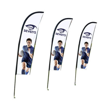 Wind Cheather Banners Deluxe - Double Sided - Digital