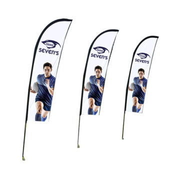 Wind Cheather Banners Deluxe - Single Sided - Digital
