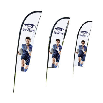 Wind Cheather Banners Econo - Single Sided - Digital